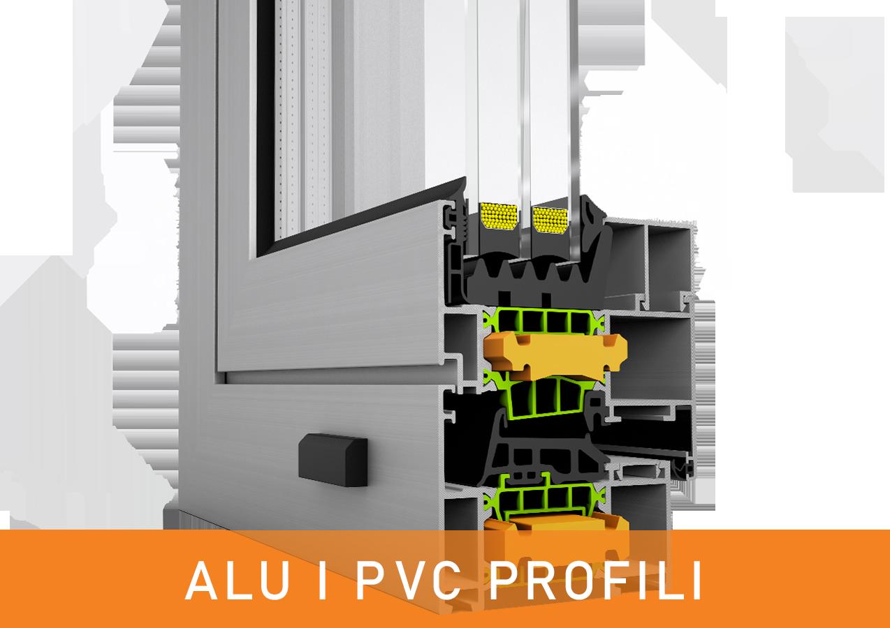 ALU I PVC PROFILI